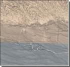 В китайской пустыне нашли загадочные строения. ФОТО