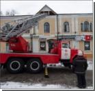 Огонь в доме Булгакова потушен. ФОТО