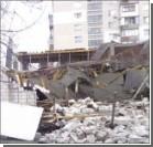 В Одессе обрушился строящийся супермаркет. ФОТО