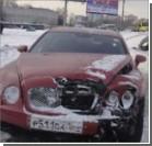 Bentley попал в аварию сразу с пятью машинами. ФОТО