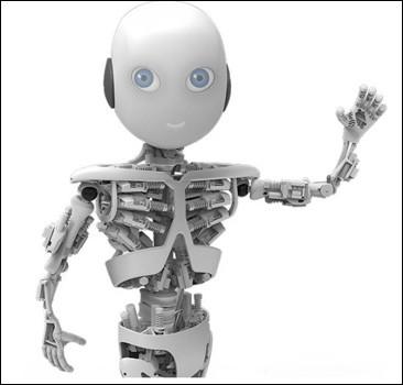 В Швейцарии выпустят робота, который будет двигаться как человек. Видео