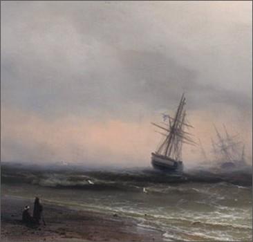 В музее во время корпоратива украли картину Айвазовского