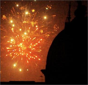 В Италии во время новогодних фейерверков ранены около 100 человек