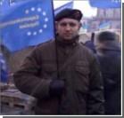Убитого на Грушевского Жизневского похоронили с флагом УНА-УНСО. Видео