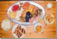 Британское кафе предложило посетителям завтрак из 59 блюд