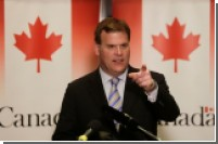 Палестинцы закидали башмаками кортеж канадского министра