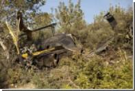 В Испании разбился вертолет с тонной гашиша