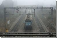 В Индии любителей селфи задавил поезд