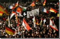 В Дрездене прошла самая масштабная антиисламская акция