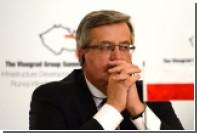 Президент Польши потребовал жестких антироссийских санкций