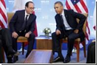Обама и Олланд высказались за сохранение санкций против России