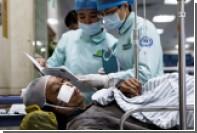 В результате взрыва газа у китайского супермаркета погибли шесть человек