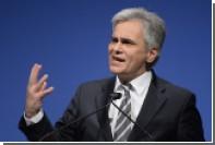Австрийский канцлер выступил против ужесточения антироссийских санкций