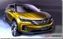 Китайский кроссовер GAC GS4 дебютирует на автосалоне в Детройте