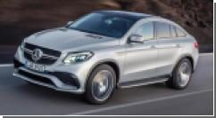 Mercedes-AMG GLE-63 Coupe - первая новинка на автошоу в Детройте