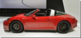 В Детройте представили спецверсию Porsche 911 Targa