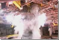 НАСА испытало двигатели для марсианской сверхтяжелой ракеты