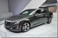 Спортивный Cadillac CTS выйдет на рынок уже летом