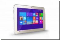 Презентация нового планшета Toshiba Encore 2 White с поддержкой технологии цифрового пера от Wacom