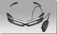 Умные очки SmartEyeglass - еще одна новинка электроники показанная Sony показала на CES 2015