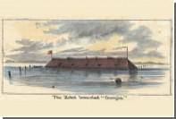 В США восстановят неприступную плавучую крепость Конфедерации