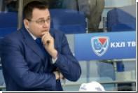 Тренера ХК «Барыс» оштрафовали на 100 тысяч рублей за срыв интервью