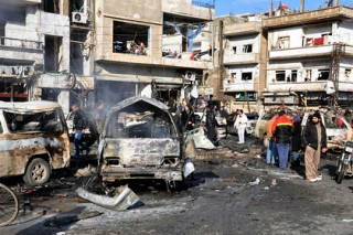 Жертвами теракта под Дамаском стали более 60 человек
