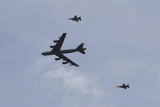 США ответили на заявление КНДР об испытании водородной бомбы полетом B-52