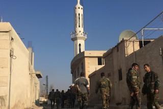 Сирийская армия отбила стратегически важный город