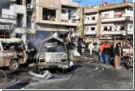 Под Дамаском произошел двойной теракт