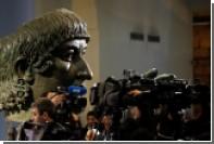Прикрытые перед визитом Роухани античные статуи вызвали скандал в Италии