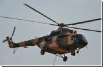 Три человека погибли при падении вертолета Ми-17 в Афганистане
