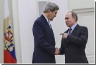 Bloomberg рассказал о требовании Путина на встрече с Керри