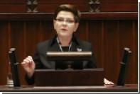 Премьер-министр Польши насчитала миллион беженцев с Украины