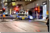 Полиция назвала предварительную причину взрыва в центре Стокгольма