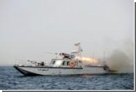 Иранские моряки отогнали американский корабль от зоны учений