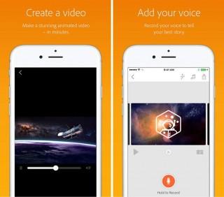 Приложение Adobe Voice для создания анимированного видео стало доступно на iPhone