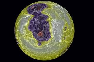 Северный полюс подтаял