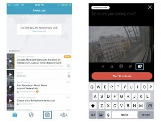 Новая версия Periscope для iPhone позволяет проводить трансляции с GoPro