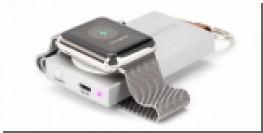 Представлена портативная зарядка для Apple Watch