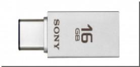 Sony представила флеш-накопитель со штекерами USB-C и USB Type-A