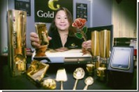 Goldgenie отправит в Китай 50 золотых iMac