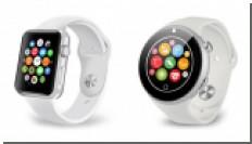 Китайцы представили клон Apple Watch 2 с круглым экраном [видео]
