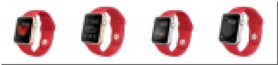 Красные подарочные коробочки Apple
