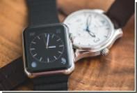 Рынок швейцарских часов пережил рекордный спад после начала продаж Apple Watch