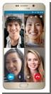 Skype вводит групповые видеозвонки на смартфонах