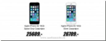 В России начали снижать цены на iPhone 5s