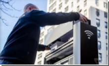 В Нью-Йорке начали установку публичных гигабитных точек доступа Wi-Fi вместо телефонных будок