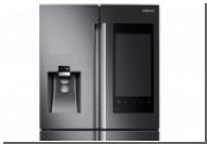 Samsung привезла на CES 2016 холодильник со встроенным планшетом
