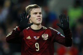 Нападающий сборной России Кокорин перешел в «Зенит»